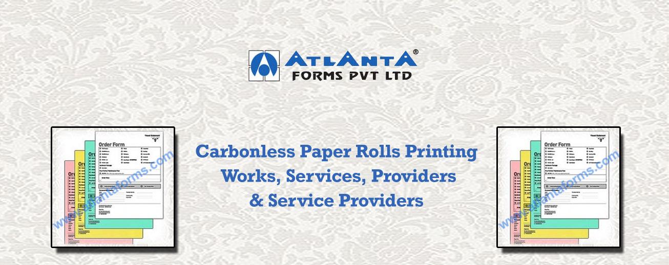 Carbonless Paper Rolls Printing