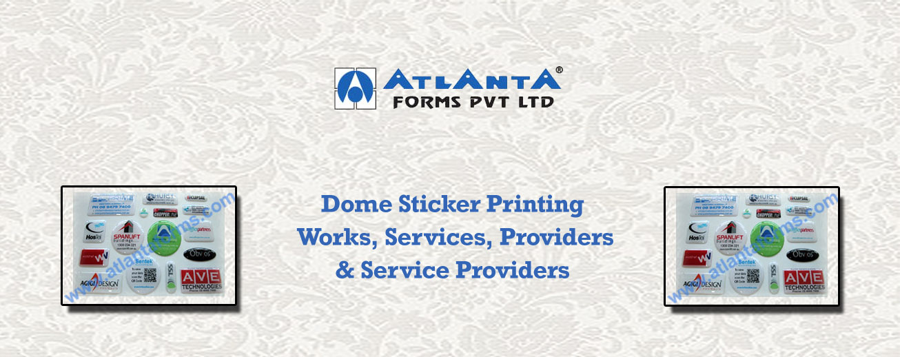 Dome Sticker Printing