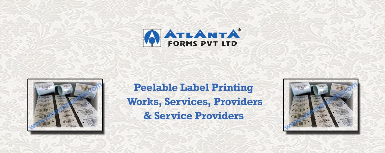 Peelable Label Printing