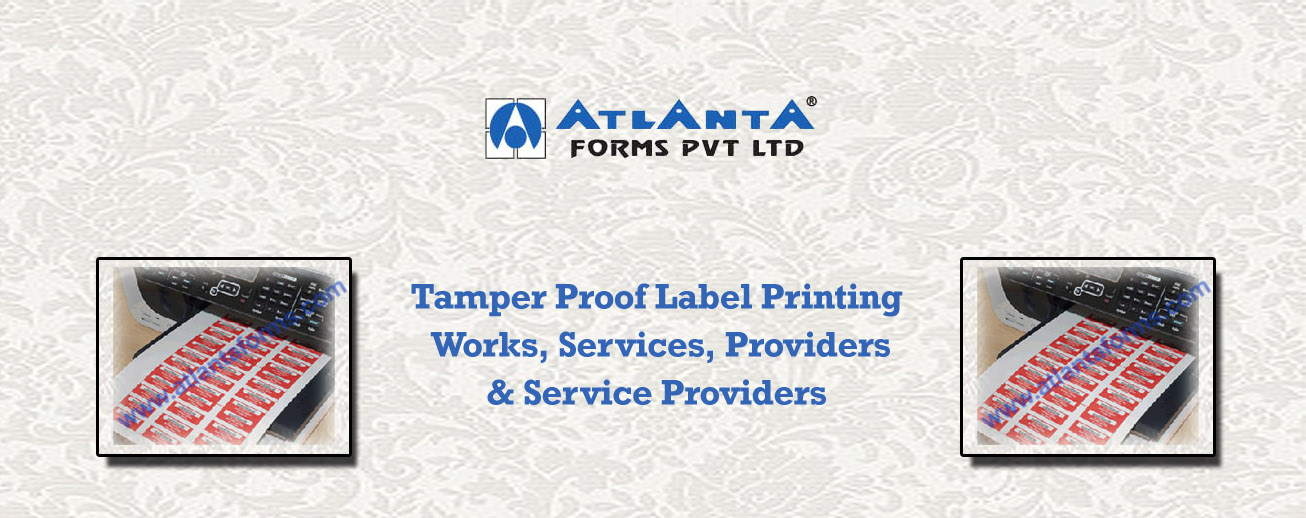 Tamper Proof Label Printing