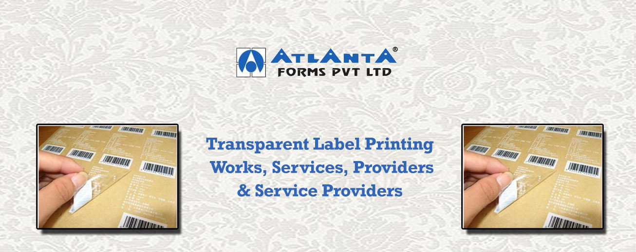 Transparent Label Printing